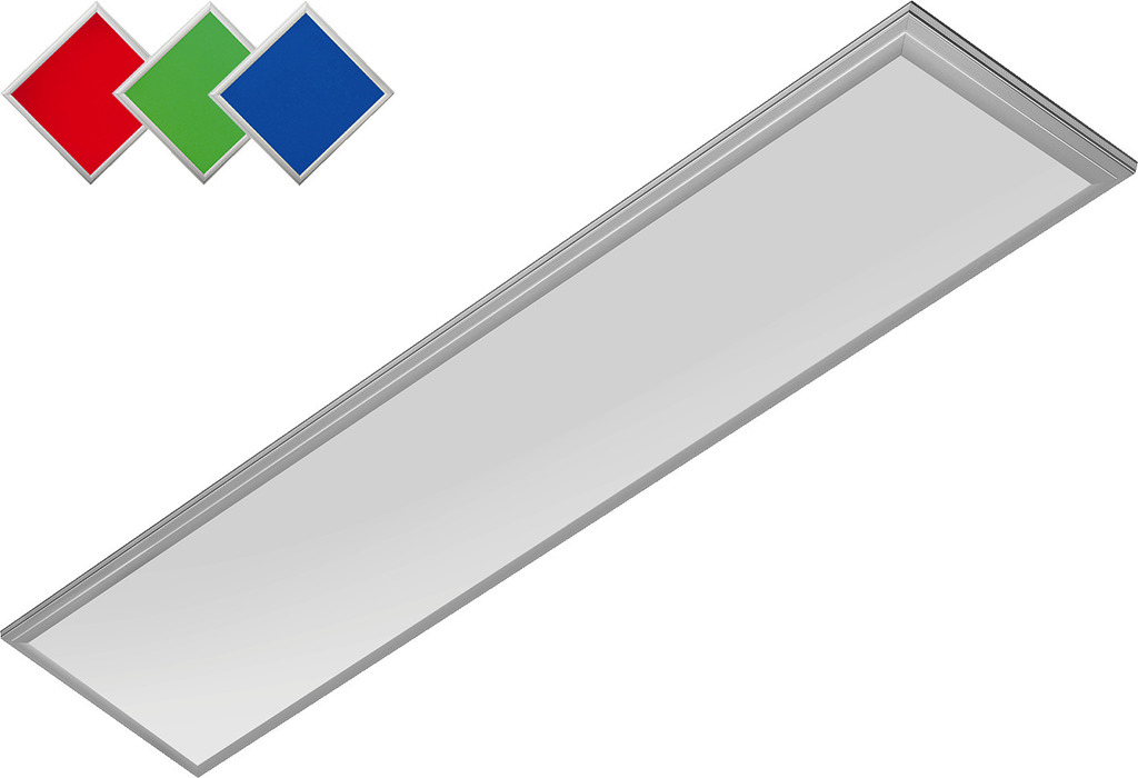 monacor schweiz ag rgb led panel dimmbar 950 1050 lm ledp 1230rgb. Black Bedroom Furniture Sets. Home Design Ideas