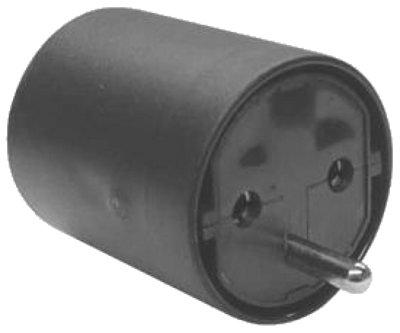 monacor schweiz ag adapter schuko kupl auf ch stecker 3 pol. Black Bedroom Furniture Sets. Home Design Ideas