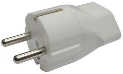 monacor schweiz ag adapter ch buchse 3pol auf schuko stecker. Black Bedroom Furniture Sets. Home Design Ideas